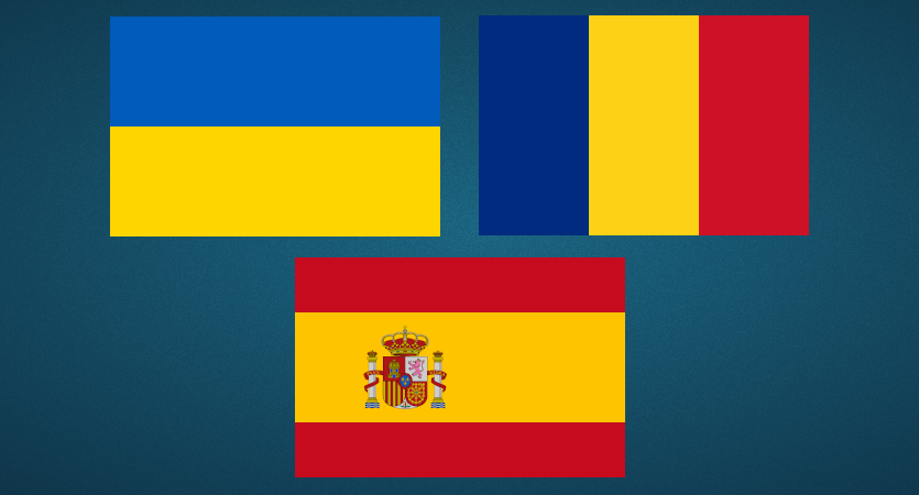 🇺🇦 🇪🇸 🇷🇴 New interface languages